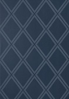 DIAMOND HEAD, Navy, T85056, Collection Greenwood from Thibaut