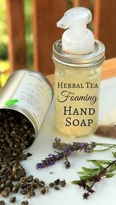 If herbs are good for you when you drink them in a tea, then surely they must be good for your skin as well! I've been making my own liquid hand soap ever since I got slightly addicted to those foaming...