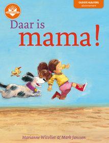 Boektoppers kinderboek 'Daar is mama!' voor kleuters van 4 tot 6 jaar