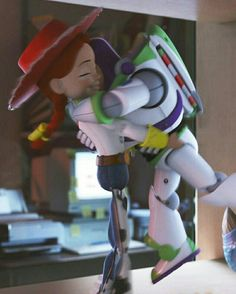 Jessie and Buzz Cute Disney Wallpaper, Cartoon Wallpaper, Disney Art, Disney Movies, Desenho Toy Story, Dreamworks, Jessie And Buzz, Aniversario Peppa Pig, Toy Story Movie