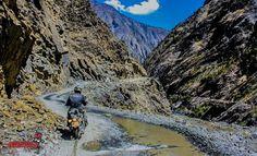 Motorcycle Tours to India, Nepal, Bhutan, Tibet, Thailand, Sri Lanka and Mongolia: The Death Vallley of Indian Himalaya