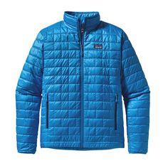 Patagonia Men\'s Nano Puff\u00AE Jacket - Andes Blue ANDB packs into its own pocket.