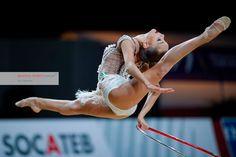 Dina AVERINA (Russia) ~ Hoop @ Grand Prix Thiais 2017 Ulrich Fassbender.