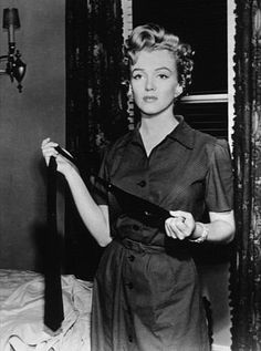 """""""Don't Bother To Knock"""" M. Monroe 1952 Such a great performance!"""