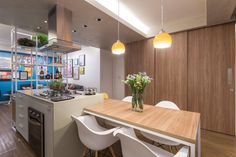 Fluid Apartment Remodel Naturally Blends All Its Spaces