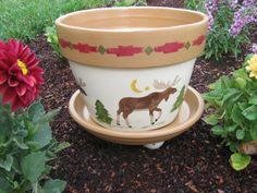 Flower Pot by bubee on Etsy, $20.00