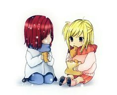 Erza and Lucy Kawaii Fairy Tail