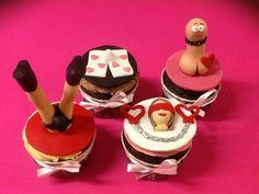 Despedida de soltera cupcakes. www.ameliabakery.com: Cupcakes, Cupcake Cookies, Wedding Cakes, Frozen, Fondant, Desserts, Party Ideas, Lingerie, Cupcake Ideas