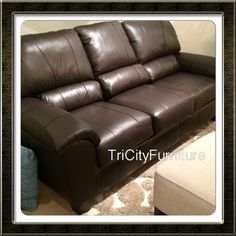 Love the leather! Great prices too! Leather sofas for under $999