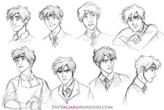 "thevaliardmansion: "" VALIARD READERS! I need your help!Hey, folks! So, in between writing Chapter 12 and 13, I did a redesign on Theodore, giving him shorter hair so there would be absolutely no more confusion between him and Gangfield. The change..."