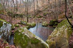 Glory Hole Trail, Arkansas.