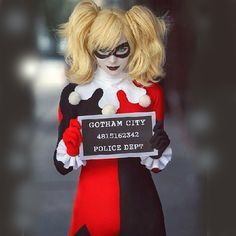 Free Shipping New 2015 Adult Classic Harley Quinn Cosplay Costume Fantasia Halloween Costumes For Women