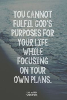 God is in control and I need to trust Him in all things.