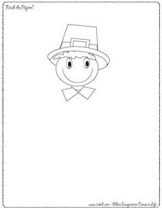 Finish the Pilgrim - Thanksgiving Theme ~ Pilgrims ~ Turkey ~ Mayflower ~ Native Americans ~ Thanksgiving ~ Story Starters ~ Story Stones ~ Writing Prompts ~ Drawing Prompts ~ Preschool ~ Kindergarten ~ 1st Grade ~ 2nd Grade ~ 3rd Grade ~ Homeschool ~ Creativity & Imagination ~ First Grade - Second Grade - Third Grade - Sentence Starters - Story Prompts - story maps www.crekid.com