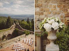 Romantic Florence Italy Wedding