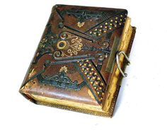 Antique Photo Album Leather Photo Albumns  by FunkAndMoreVintage