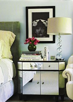 Tuesday's Trends: Mirrored Furniture