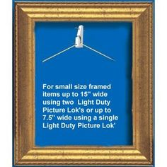 Safe Hold picture Lok has been designed as the safe and simplest way of hanging your pictures and mirrors to protect against accident and theft. Picture Lok Security Picture Hangers Poster, mirror and artwork. $9.95