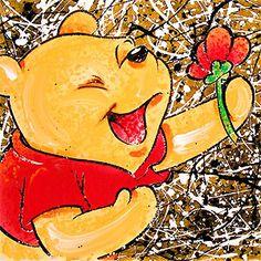 Winnie the Pooh - Broken Flower Pooh - David Willardson - World-Wide-Art.com - $750.00 #Willardson #Disney #Pooh #WinniethePooh