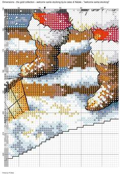 welcome santa stocking-09