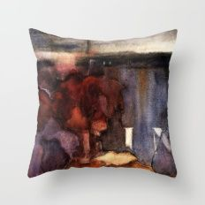 wall 2 Throw Pillow