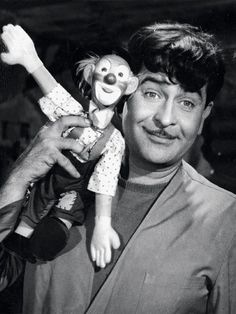 'Manna sang the most soulful songs for my films,' said Raj Kapoor. 'Manna Dey sang some of the most soulful songs for my films' is how late actor Raj Kapoor described his association with Manna Dey. Bollywood Posters, Bollywood Cinema, Bollywood Actors, Bollywood Celebrities, Joker Poster, Film Icon, Rishi Kapoor, Indian Star, Vintage Bollywood