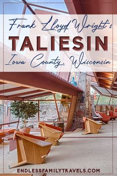 Frank Lloyd Wright's Taliesin Home in Wisconsin Best Family Vacation Spots, Family Travel, Wisconsin Vacation, Bucket List Family, Famous Architects, Travel Reviews, Best Resorts, Lloyd Wright, Best Places To Travel