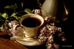 Coffee and Lilacs in the Morning