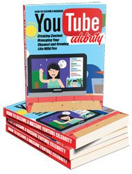 YouTube Celebrity http://www.plrsifu.com/youtube-celebrity/ eBooks, Give Away, Master Resell Rights, Niche eBooks #Youtube There are plenty of ways to make money online but none quite like becoming a YouTube celebrity. Making money through YouTube means not only that you have a very stable source of large income without putting in that much work – but it also means