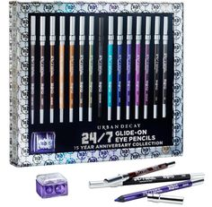 Urban Decay Eyeliners ARE THE BEST out there! They are easy to apply, and very velvety when you apply it!
