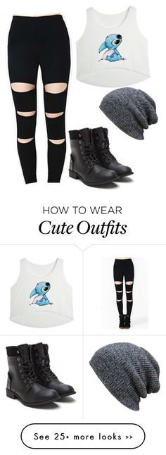 """Casual back to school outfit"" by zoeyhotch on Polyvore"