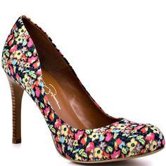 Jessica Simpson   Calie - Multi Terrace Floral----I love these!