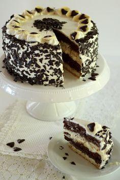 Easy Cake Recipes, Baking Recipes, Mascarpone Creme, Banana Split, Cake Art, Cake Pops, Tiramisu, Cupcake Cakes, Good Food