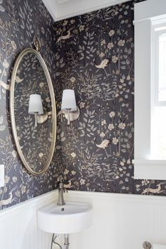 Powder room renovation by Madeleine Design Group in Vancouver, BC. *Re-pin to your own inspiration board*