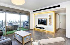 התאמה נכונה: עיצוב מחדש לדירת קבלן ביהוד | בניין ודיור