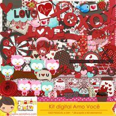 Kit digital Amo você