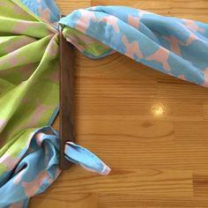 フロシキパッチン 80cm~100cm四方の風呂敷、または布で。