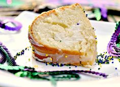 Mardi Gras -- Lighter King Cake.   I made this a couple of years ago and it is delicious.  In fact, I like it better than the traditional one.