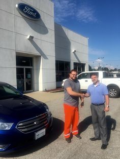 Thomas Belcher & the rest of the Turnpike Ford Family wish to thank Christopher Cox for his support 😃👍