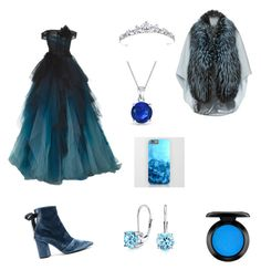 """""""Blue Quinn"""" by elenaanais on Polyvore featuring self-portrait, Bling Jewelry, John Lewis and Lilly e Violetta"""