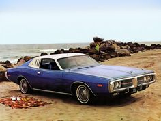 "1973 Dodge Charger Two Door Hardtop Lucky to have one like this as a ""Family Car"" My Dream Car, Dream Cars, Cool Old Cars, Nice Cars, Dodge Muscle Cars, American Muscle Cars, American Auto, Car Pictures, Car Pics"