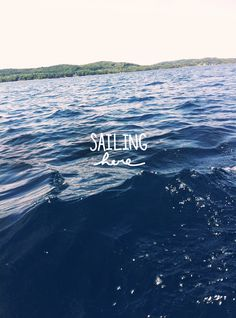 I can really be in the moment, hear, smell, taste, see and feel the experience of sailing. Magic Day, Traverse City, Sail Away, Staycation, The Fresh, Seaside, Sailing, Places To Go, Cruise