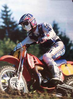 David bailey # motocross # honda