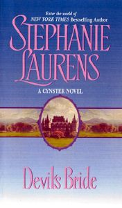 Stephanie Laurens -- I have moved away from her in the last few years but I still love the core set of the Cynster family series.