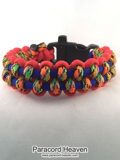 This is our brand new product just out: Circus - Paracord... Check it out right here! http://www.paracord-heaven.com/products/circus-paracord-heaven-parallel-weave-survival-bracelet