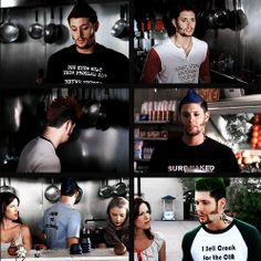 Why is it that some people can't see a good thing when it's standing right in front of them? what is it that screws all that up? Can you tell me? i swear, you're like two year olds. you're more interested in the wrapping paper than what's inside. - Jensen as Boaz Priestly in Ten Inch Hero [gifset]