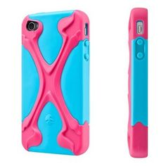 Switch Easy CapsuleRebelX Silicone Case Cover For iPhone 4 4S (MagentaxCyan) - Cases & Skins - iPhone 4/4S - iPhone Accessories
