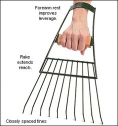 [Buy] Pair of Large Hand Rakes for fun yard-work ease.