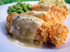 Crispy Cheddar Chicken Tenders | Plain Chicken MINE DIDN'T COME OUT THIS CRISPY BUT IT WAS GOOD. BOTH MY KIDS ATE IT!
