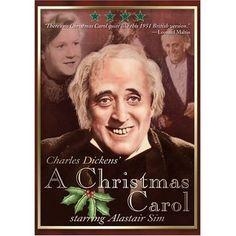 My favorite Christmas movie! Alastair Sim IS Scrooge!